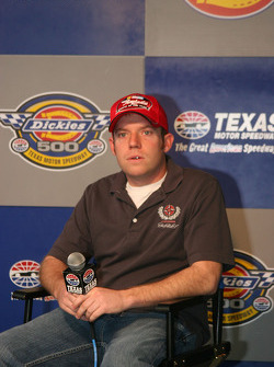 Regan Smith in the Raybestos Rookie of the Year Press Conference