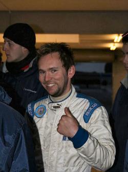 Josh Fisher ravi de sa deuxième place