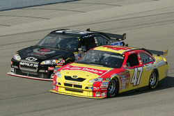 Marcos Ambrose and Regan Smith