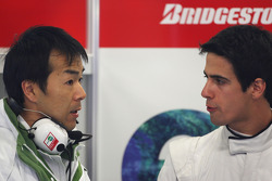 Lucas Di Grassi Test Driver, Honda Racing F1 Team