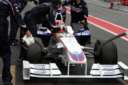Robert Kubica,  BMW Sauber F1 Team, Interim 2009 car