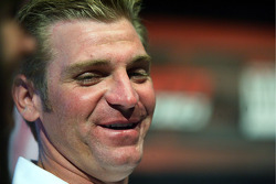 2008 NASCAR Nationwide Series champion Clint Bowyer at the ESPN Club