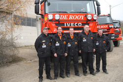 Team de Rooy: driver Gert-Jan Reijnders, co-driver Arno Slaats, crew members Pierre de Frenne, Patrick van der Heijden and John Peeters, assistance truck #859