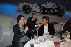 BMW Sauber F1 Team pilotu Robert Kubica ve Alex Zanardi
