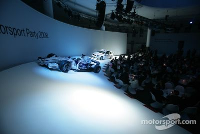 BMW Motorsport Party, Postpalast, Munich, Germany