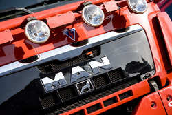 MAN Rally Team presentation: MAN Rally truck detail