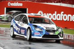 Adam Carroll in a Ford Focus WRC 08
