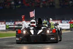Heat, race 2: Carl Edwards celebrates win