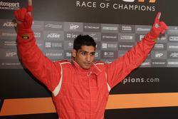 Amir Kahn winner celebrity race