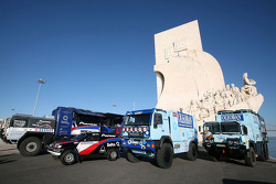 Pioneer Solo Desert Team BMW presentation in Lisbon
