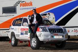 Equipa Padock: driver Adelio Machado