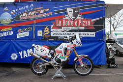 Fret-Motorsport: the Fret-Motorsport Yamaha 450cc of David Frétigné