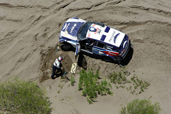 #315 BMW X3 CC: Orlando Terranova and Alain Guehennec in trouble