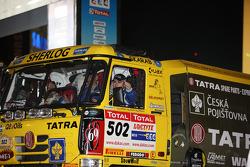 #502 Tatra T815-2 ZOR45: Ales Loprais, Vojtech Stajf and Milan Holan