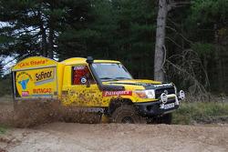 Chti Friterie Team: #400 Toyota Land Cruiser: Hervé Diers, François Béguin