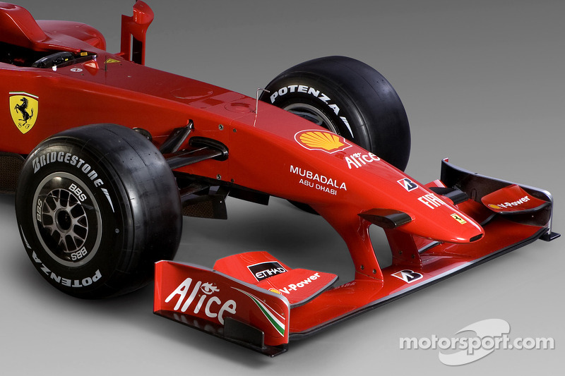 Detail of the new Ferrari F60