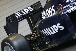 L'aileron arrière de la nouvelle Williams FW 31