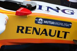 Renault R29: Cockpit