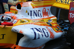 Nelson A. Piquet, Renault F1 Team, R29, detail