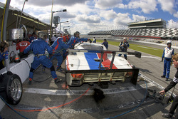 Pit stop for #58 Brumos Racing Porsche Riley: David Donohue, Antonio Garcia, Darren Law, Buddy Rice