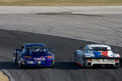 #68 TRG Porsche GT3: Josemanuel Gutierrez, Steve Miller, Chris Pallis, #58 Brumos Racing Porsche Riley: David Donohue, Antonio Garcia, Darren Law, Buddy Rice