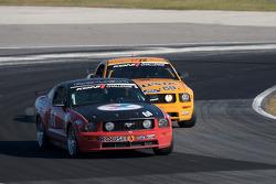 #61 Horsepower Ranch Ford Mustang GT: Hugh Plumb, Jack Roush, #59 Rehagen Racing Ford Mustang GT: Dean Martin, Larry Rehagen