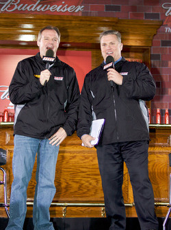 Kenny Wallace and Steve Burns
