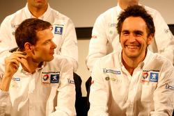 Alexander Wurz and Franck Montagny