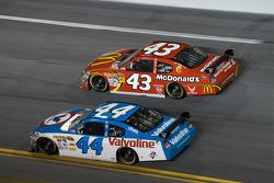 Reed Sorenson, Richard Petty Motorsports Dodge, A.J. Allmendinger, Richard Petty Motorsports Dodge