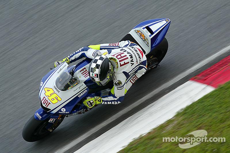 Tes Sepang 2009 - Fiat Yamaha Team