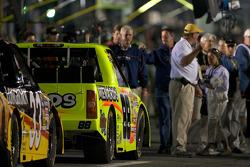 Le truck Chevrolet de Matt Crafton sur la grille de départ