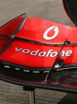 Alerón frontal de McLaren
