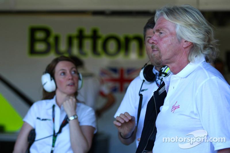 Sir Richard Branson CEO of the Virgin Group