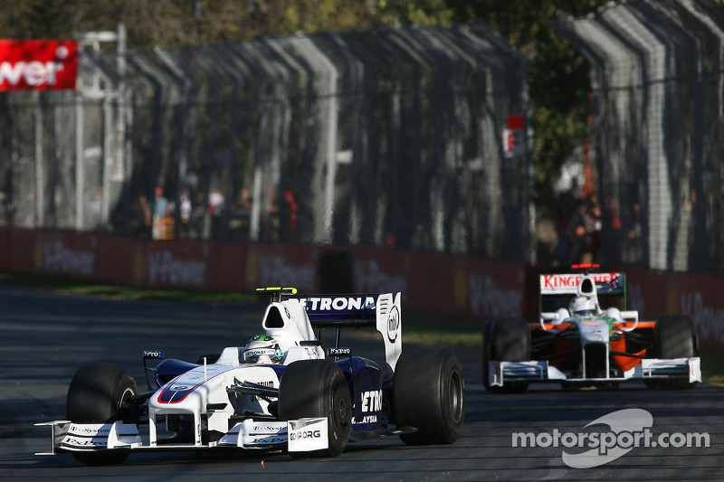 Nick Heidfeld, BMW Sauber F1 Team, F1.09