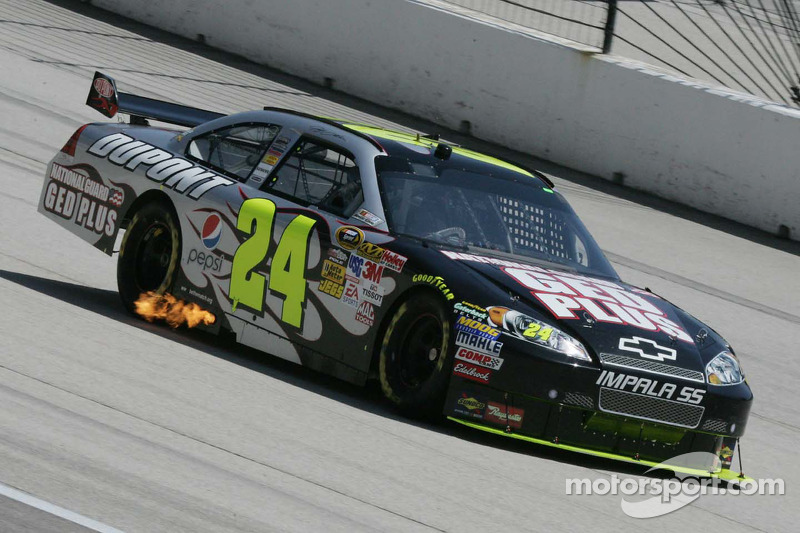 Jeff Gordon und der National Guard