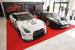 Presenration Nissan GT-R and Ford GT1