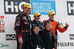 Round 2 podium