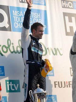 Initial race winner Jonny Adam