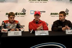 Press conference: David Ragan, Carl Edwards and Ricky Stenhouse Jr.