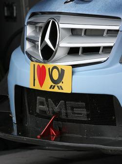 Front of Jamie Green, AMG Mercedes C-Klasse