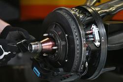 Renault, brake, suspension, detail