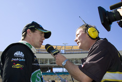 Carl Edwards talks with MRN Radio