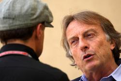 Jean Alesi, Luca di Montezemolo, Scuderia Ferrari, FIAT Chairman and President of Ferrari