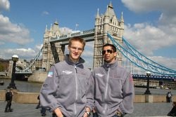Alexandre Imperatori, driver of A1 Team Switzerland and Neel Jani, driver of A1 Team Switzerland