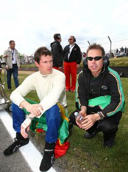 Alan van der Merwe, driver of A1 Team South Africa