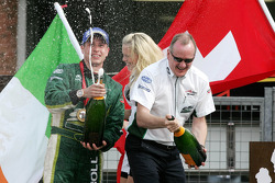 Adam Carroll, driver of A1 Team Ireland, Mark Gallagher