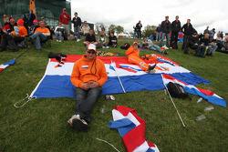 A1 Team Netherlands fans