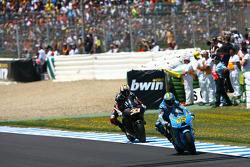 Loris Capirossi, Rizla Suzuki MotoGP, Marco Melandri, Hayate Racing Team