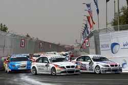 Jorg Muller,  BMW Team Germany, BMW 320si and Franz Engstler, Liqui Moly Team Engstler, BMW 320si
