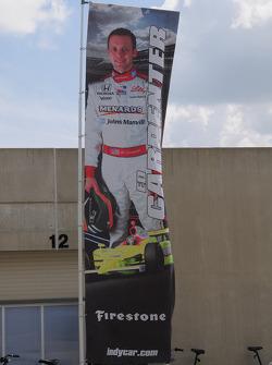 Ed Carpenter, Vision Racing a sa bannière en dehors du garage